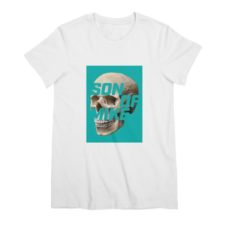 "SON OF MIKE ""Mint Skull"" Women's Premium T-Shirt by Turkeylegsray's Artist Shop"