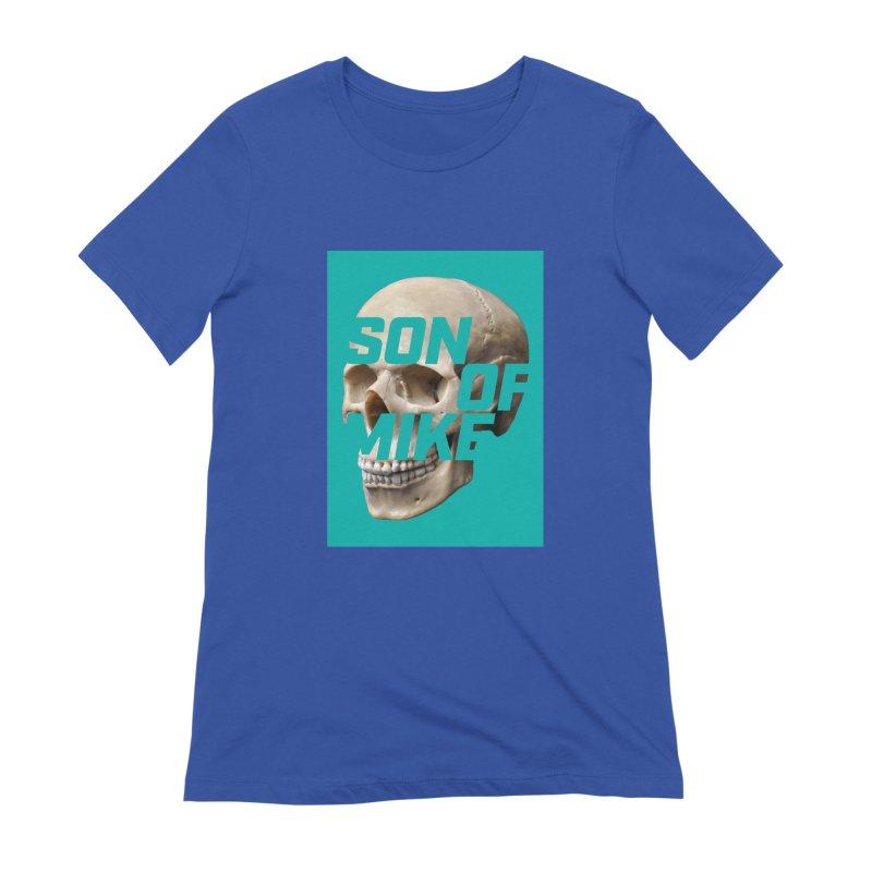 "SON OF MIKE ""Mint Skull"" Women's Extra Soft T-Shirt by Turkeylegsray's Artist Shop"