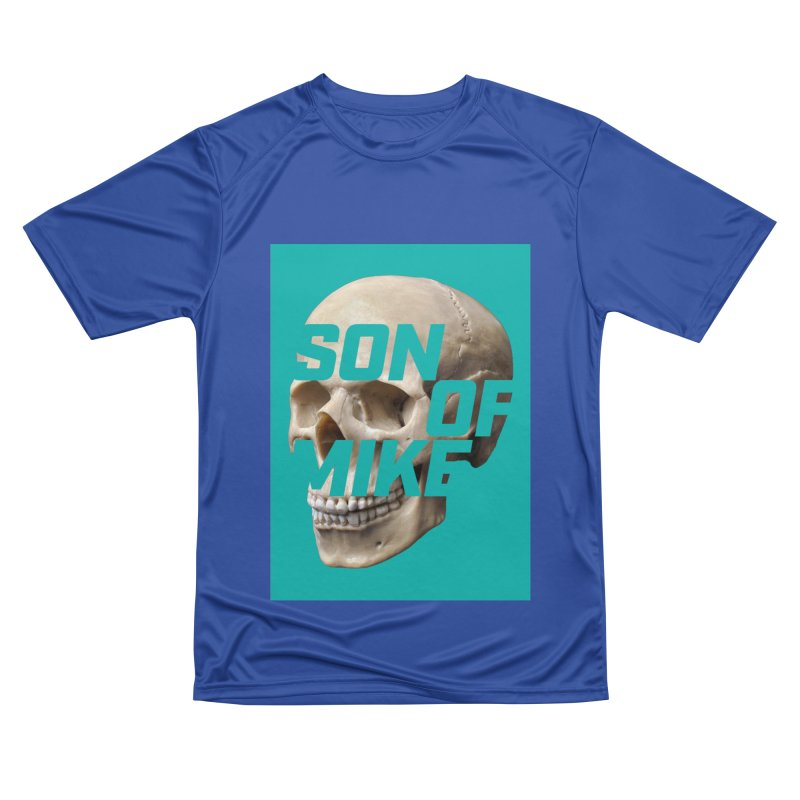 "SON OF MIKE ""Mint Skull"" Men's Performance T-Shirt by Turkeylegsray's Artist Shop"