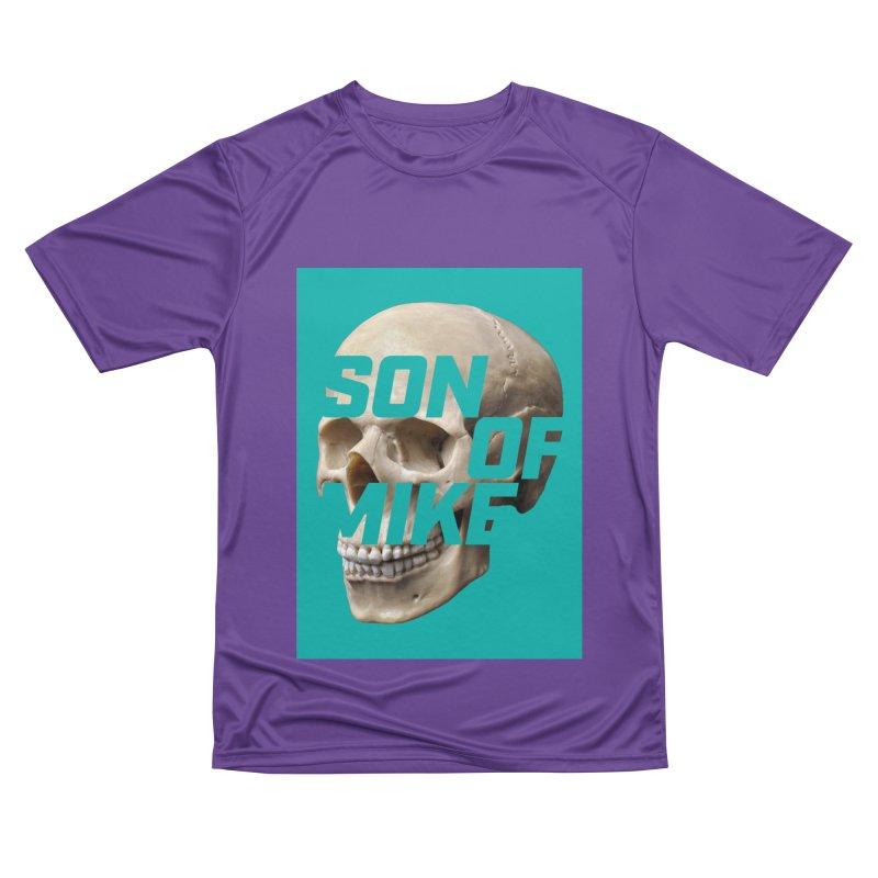 "SON OF MIKE ""Mint Skull"" Women's Performance Unisex T-Shirt by Turkeylegsray's Artist Shop"