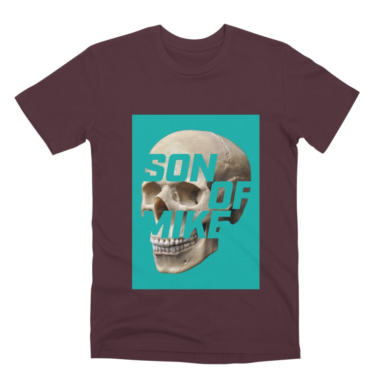 "SON OF MIKE ""Mint Skull"" Men's Premium T-Shirt by Turkeylegsray's Artist Shop"
