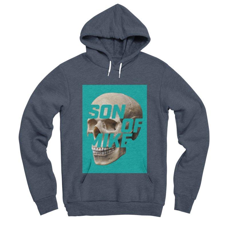 """SON OF MIKE """"Mint Skull"""" Women's Sponge Fleece Pullover Hoody by Turkeylegsray's Artist Shop"""