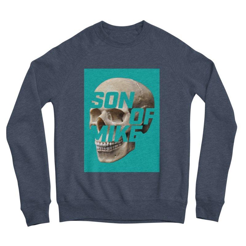 """SON OF MIKE """"Mint Skull"""" Men's Sponge Fleece Sweatshirt by Turkeylegsray's Artist Shop"""