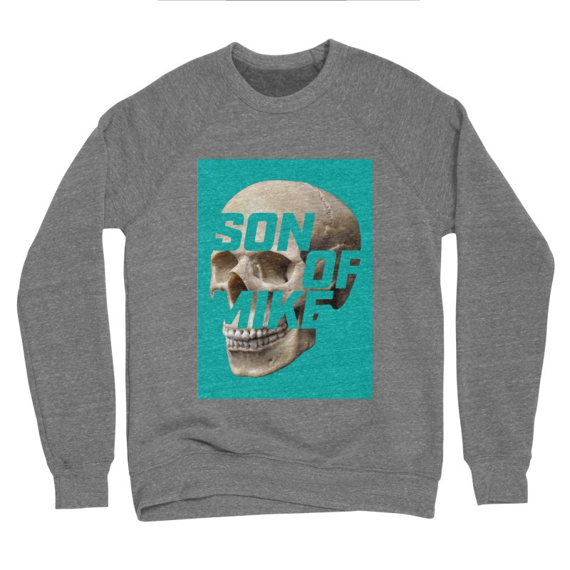 "SON OF MIKE ""Mint Skull"" Women's Sponge Fleece Sweatshirt by Turkeylegsray's Artist Shop"