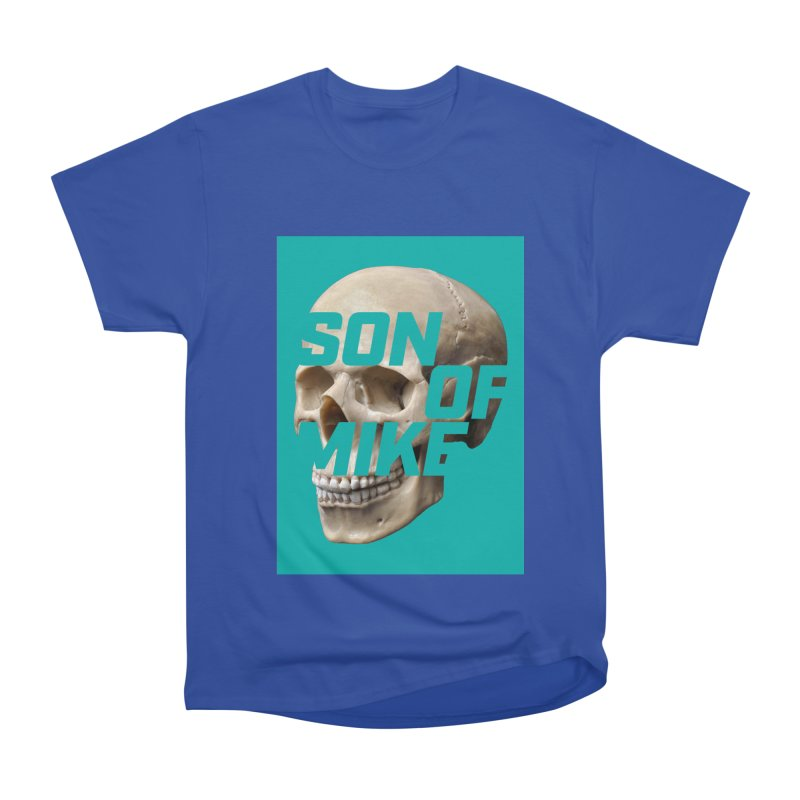 "SON OF MIKE ""Mint Skull"" Women's Heavyweight Unisex T-Shirt by Turkeylegsray's Artist Shop"