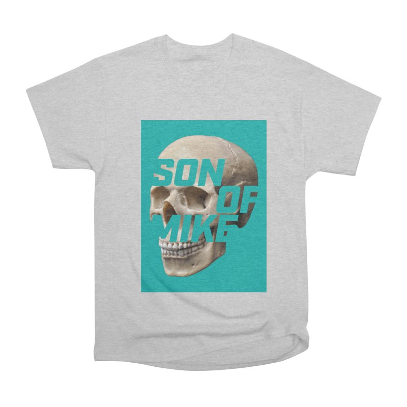 "SON OF MIKE ""Mint Skull"" Men's Heavyweight T-Shirt by Turkeylegsray's Artist Shop"