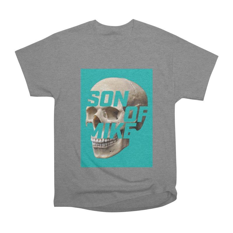 "SON OF MIKE ""Mint Skull"" Men's Heavyweight T-Shirt by Turkeylegsray's Artist Shop"