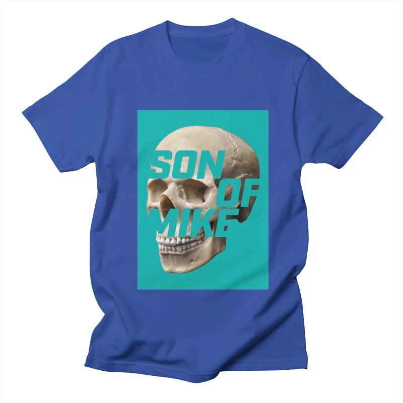 """SON OF MIKE """"Mint Skull"""" Men's Regular T-Shirt by Turkeylegsray's Artist Shop"""