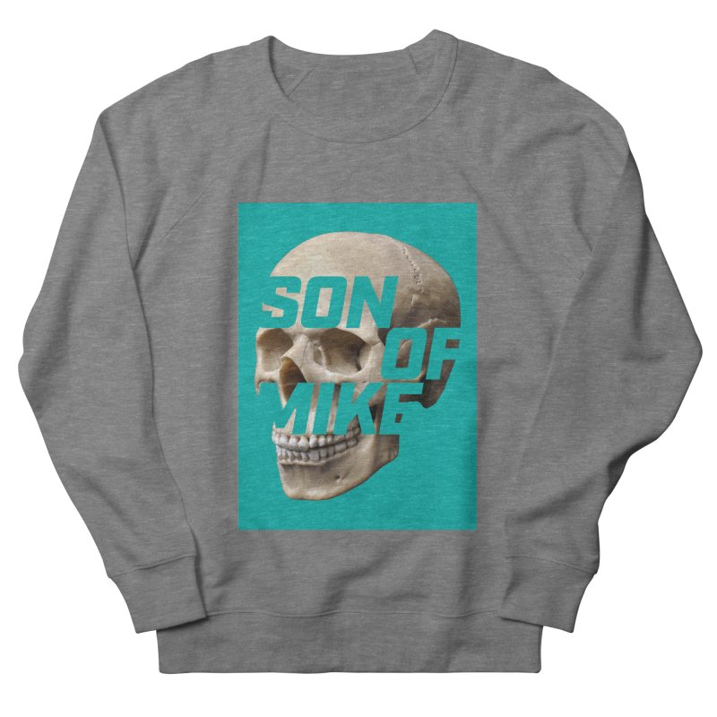 "SON OF MIKE ""Mint Skull"" Women's French Terry Sweatshirt by Turkeylegsray's Artist Shop"