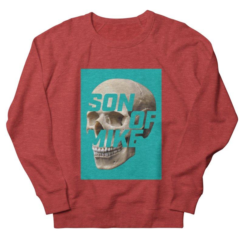 "SON OF MIKE ""Mint Skull"" Women's French Terry Sweatshirt by Turkeylegsray's Artist Shop"