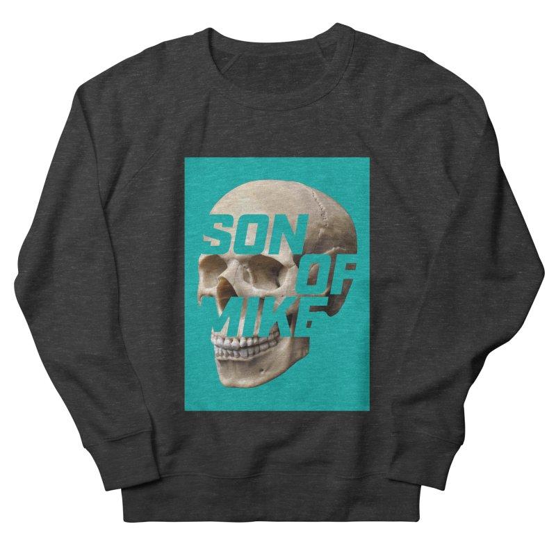 "SON OF MIKE ""Mint Skull"" Men's French Terry Sweatshirt by Turkeylegsray's Artist Shop"