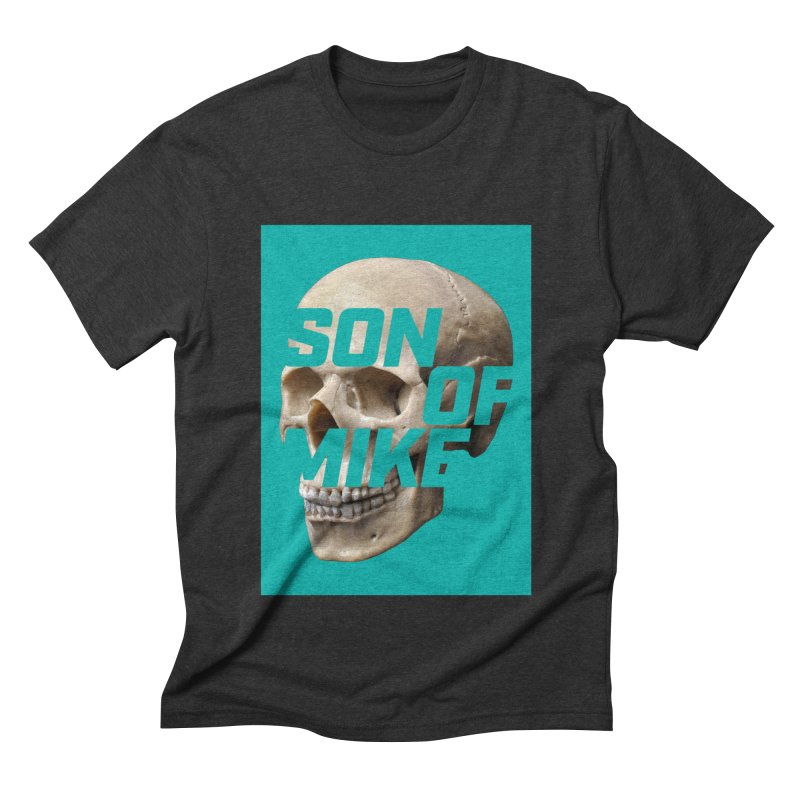 "SON OF MIKE ""Mint Skull"" Men's Triblend T-Shirt by Turkeylegsray's Artist Shop"