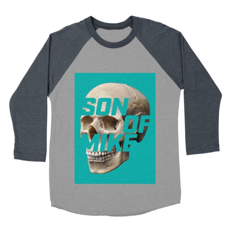 "SON OF MIKE ""Mint Skull"" Women's Baseball Triblend Longsleeve T-Shirt by Turkeylegsray's Artist Shop"
