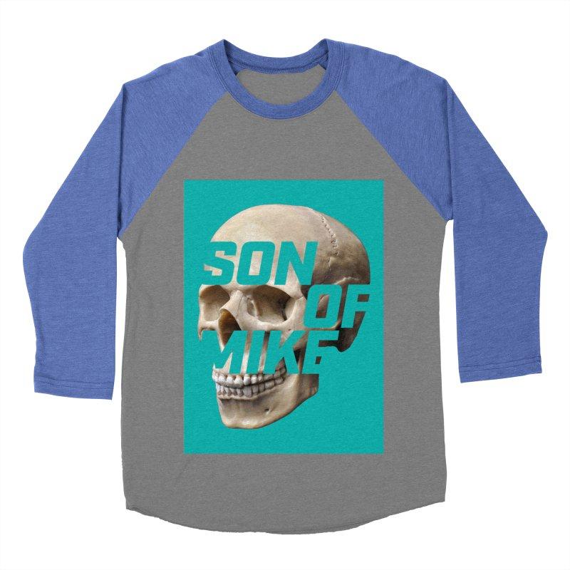"SON OF MIKE ""Mint Skull"" Men's Baseball Triblend Longsleeve T-Shirt by Turkeylegsray's Artist Shop"