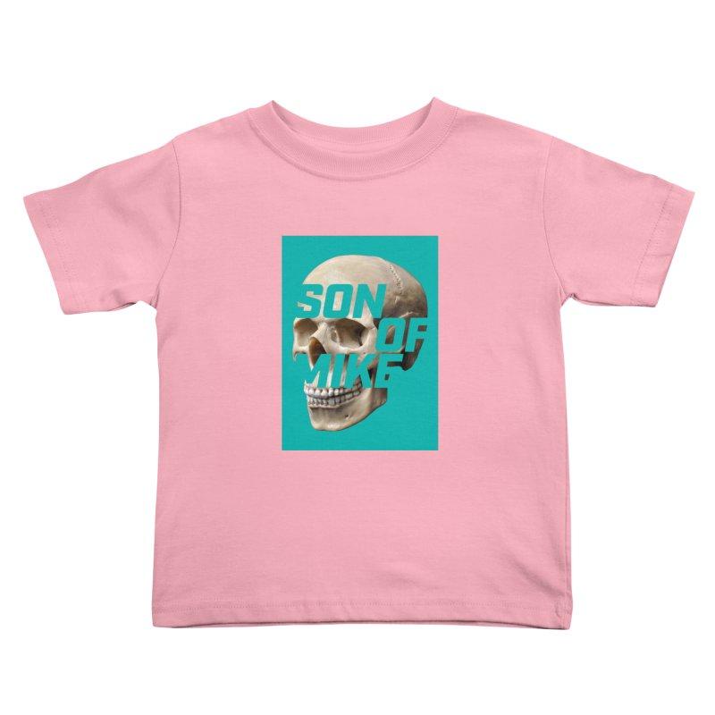 "SON OF MIKE ""Mint Skull"" Kids Toddler T-Shirt by Turkeylegsray's Artist Shop"