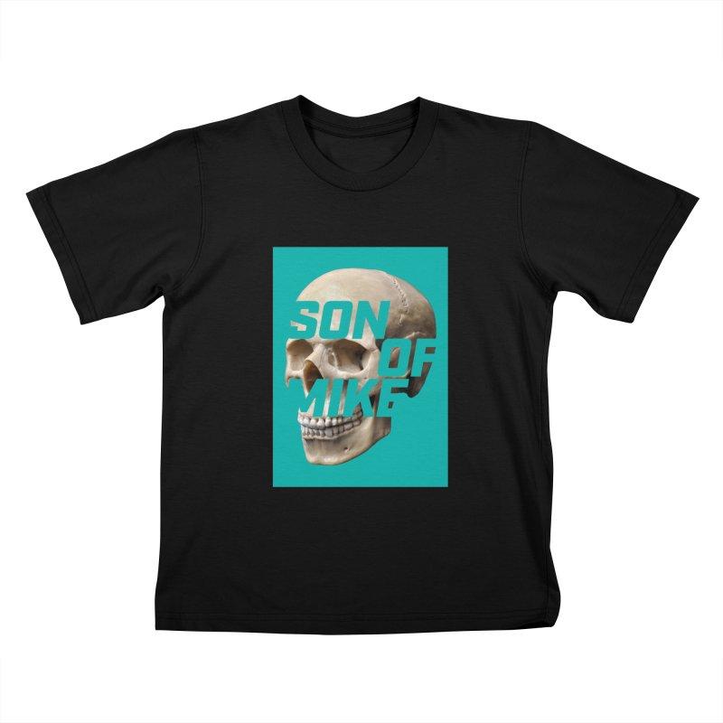 "SON OF MIKE ""Mint Skull"" Kids T-Shirt by Turkeylegsray's Artist Shop"