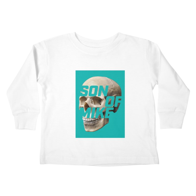 "SON OF MIKE ""Mint Skull"" Kids Toddler Longsleeve T-Shirt by Turkeylegsray's Artist Shop"