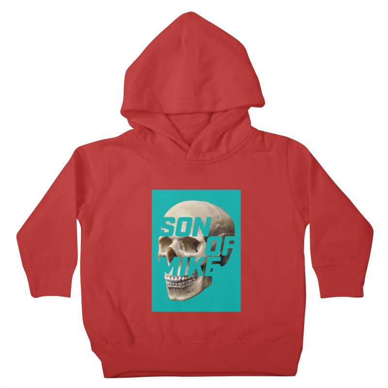 "SON OF MIKE ""Mint Skull"" Kids Toddler Pullover Hoody by Turkeylegsray's Artist Shop"