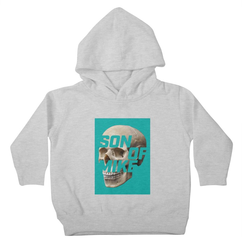 "SON OF MIKE ""Mint Skull"" Kids Toddler Pullover Hoody by Turkeylegsray's Artist Shop"