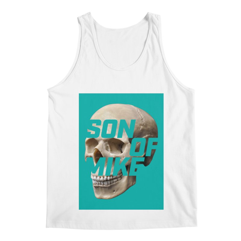 """SON OF MIKE """"Mint Skull"""" Men's Regular Tank by Turkeylegsray's Artist Shop"""