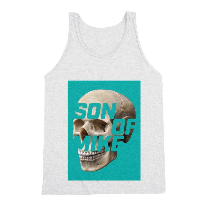 "SON OF MIKE ""Mint Skull"" Men's Triblend Tank by Turkeylegsray's Artist Shop"