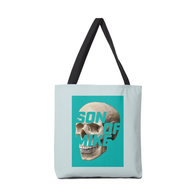 """SON OF MIKE """"Mint Skull"""" Accessories Tote Bag Bag by Turkeylegsray's Artist Shop"""