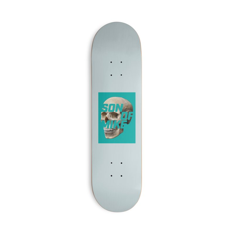 "SON OF MIKE ""Mint Skull"" Accessories Deck Only Skateboard by Turkeylegsray's Artist Shop"