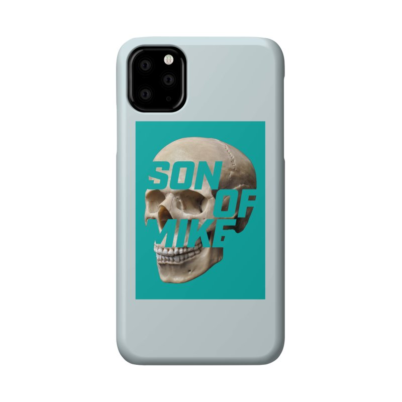 "SON OF MIKE ""Mint Skull"" Accessories Phone Case by Turkeylegsray's Artist Shop"
