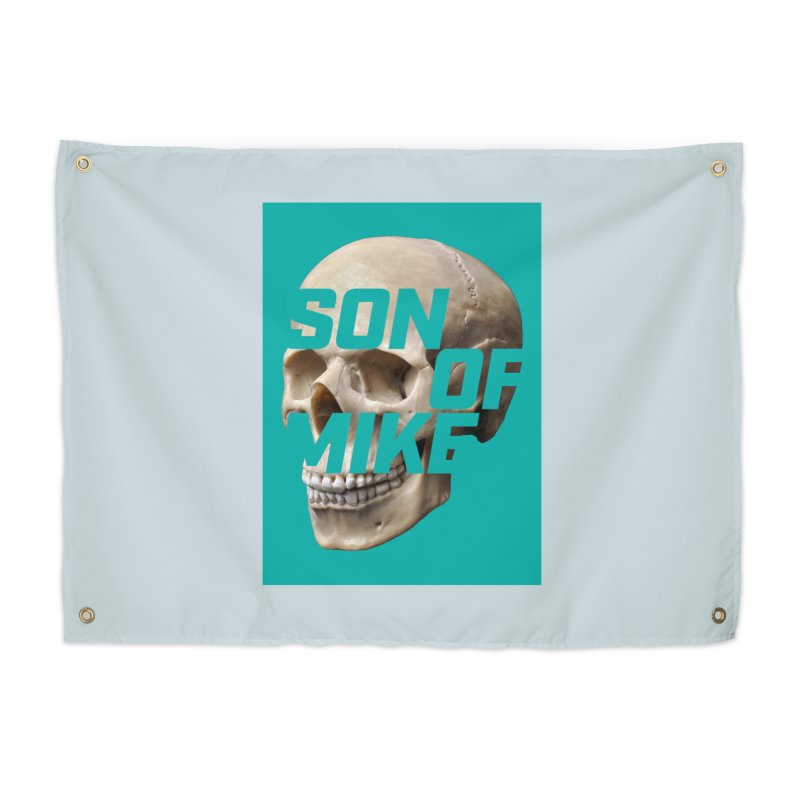 "SON OF MIKE ""Mint Skull"" Home Tapestry by Turkeylegsray's Artist Shop"