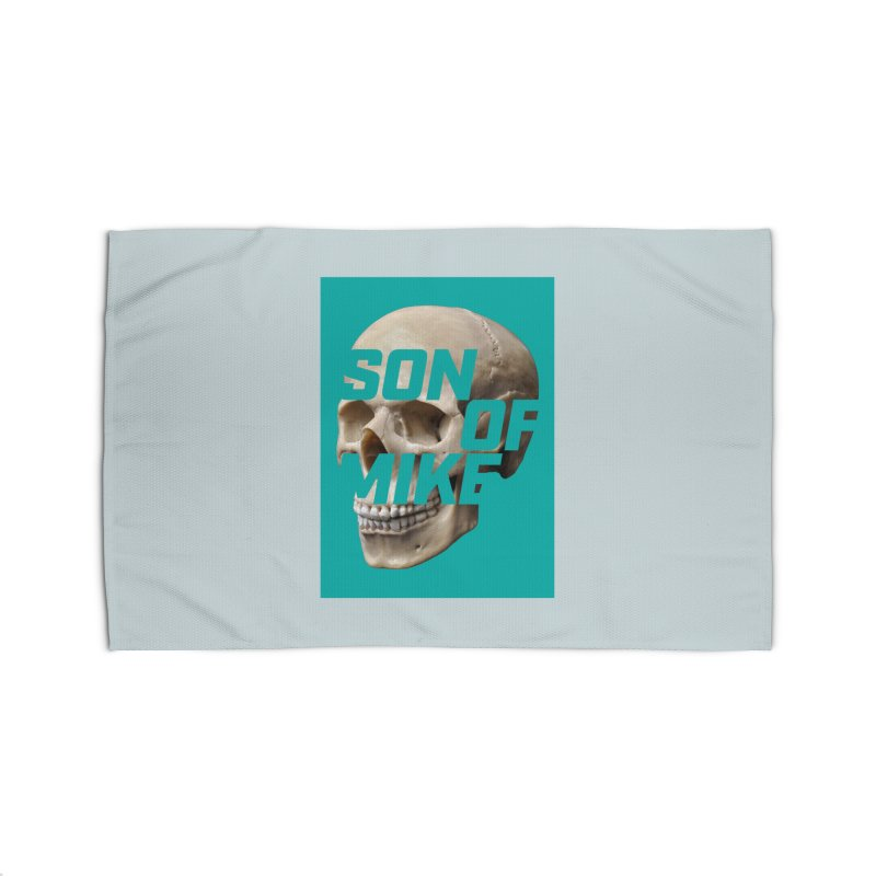 """SON OF MIKE """"Mint Skull"""" Home Rug by Turkeylegsray's Artist Shop"""