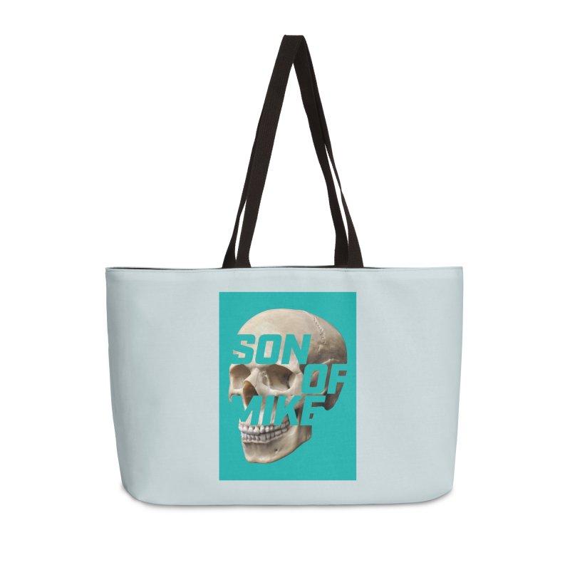 """SON OF MIKE """"Mint Skull"""" Accessories Weekender Bag Bag by Turkeylegsray's Artist Shop"""