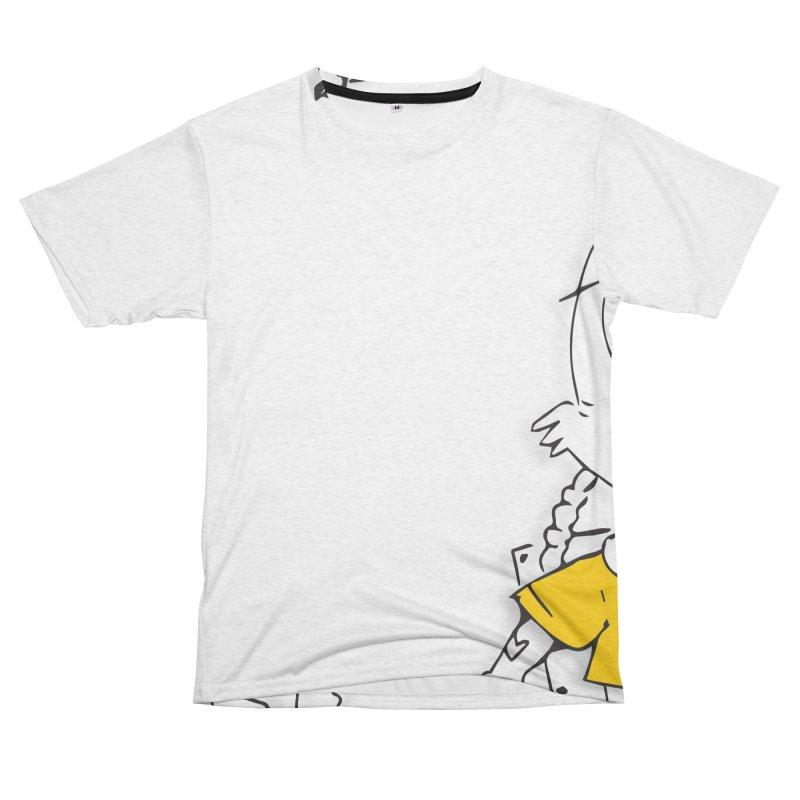Wolf Guy Women's Unisex French Terry T-Shirt Cut & Sew by Turkeylegsray's Artist Shop