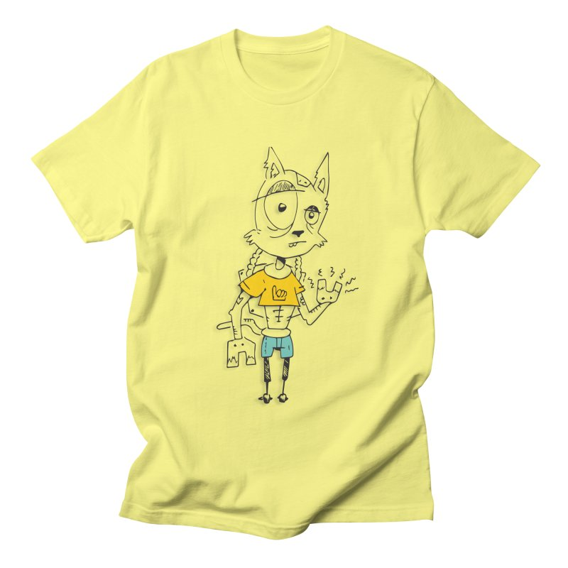 Wolf Guy Women's Regular Unisex T-Shirt by Turkeylegsray's Artist Shop