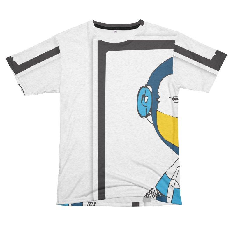 MEGAMAN Men's French Terry T-Shirt Cut & Sew by Turkeylegsray's Artist Shop