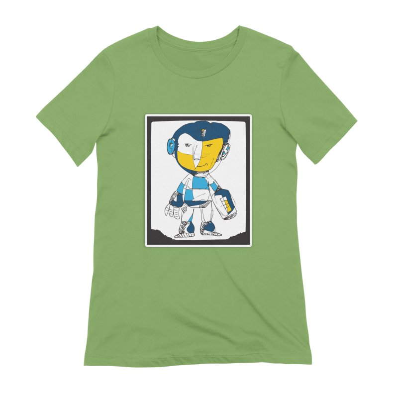 MEGAMAN Women's Extra Soft T-Shirt by Turkeylegsray's Artist Shop