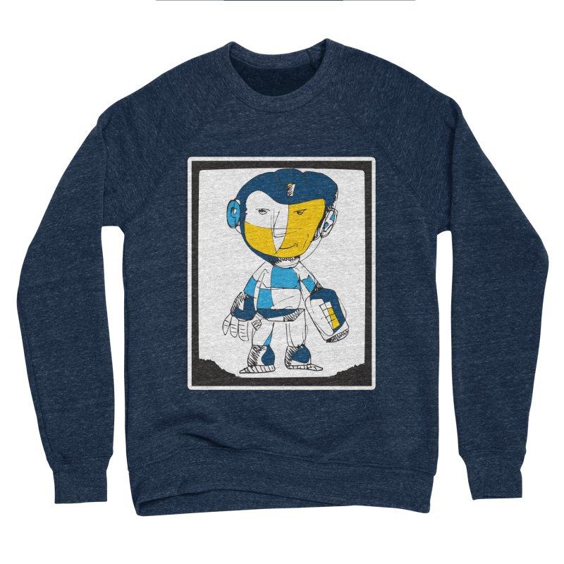 MEGAMAN Men's Sponge Fleece Sweatshirt by Turkeylegsray's Artist Shop