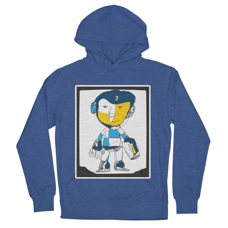 MEGAMAN Women's French Terry Pullover Hoody by Turkeylegsray's Artist Shop