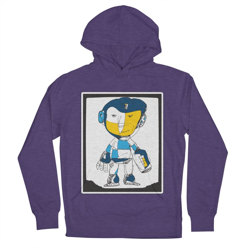 MEGAMAN Men's French Terry Pullover Hoody by Turkeylegsray's Artist Shop