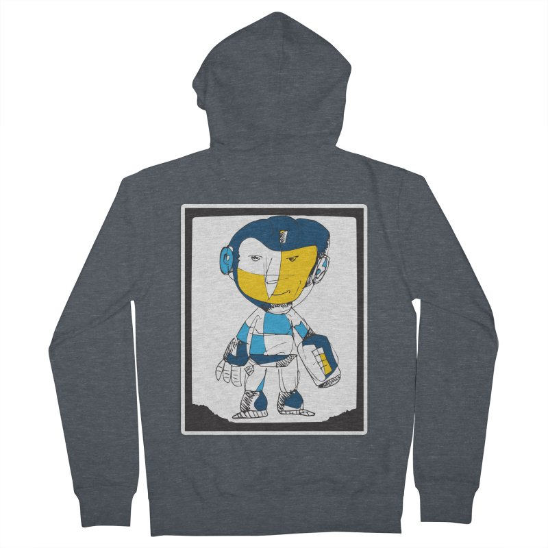 MEGAMAN Women's French Terry Zip-Up Hoody by Turkeylegsray's Artist Shop