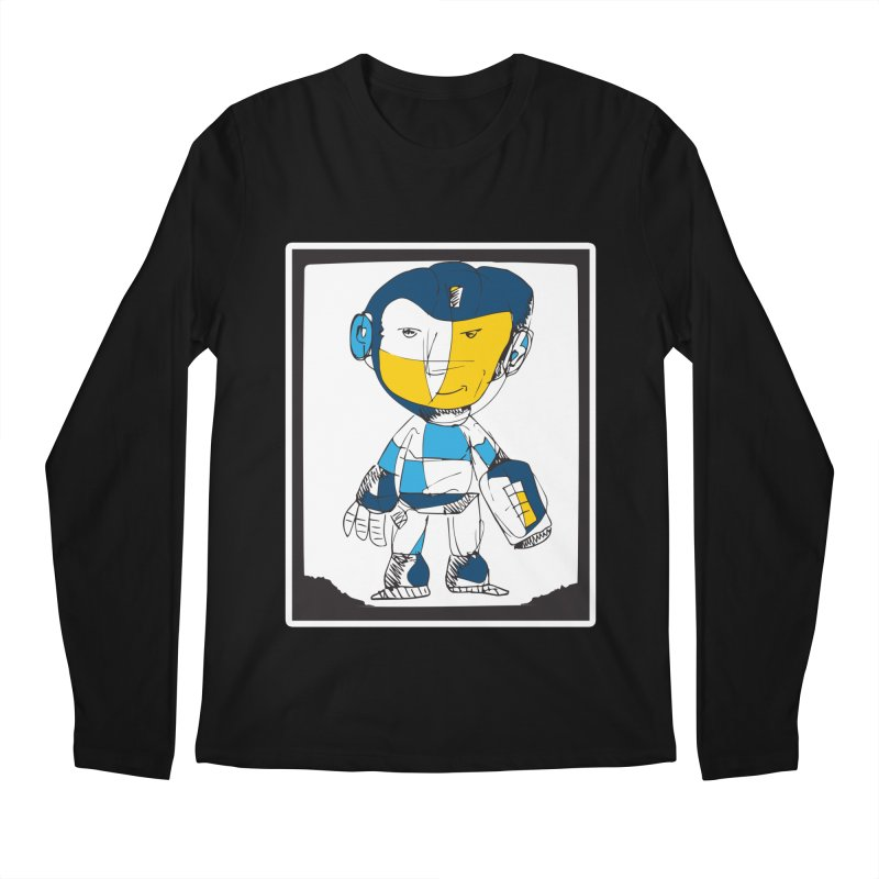 MEGAMAN Men's Regular Longsleeve T-Shirt by Turkeylegsray's Artist Shop