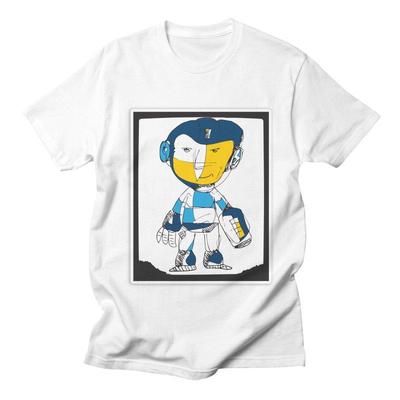 MEGAMAN Men's Regular T-Shirt by Turkeylegsray's Artist Shop