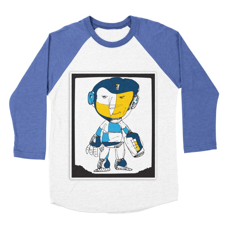 MEGAMAN Women's Baseball Triblend Longsleeve T-Shirt by Turkeylegsray's Artist Shop