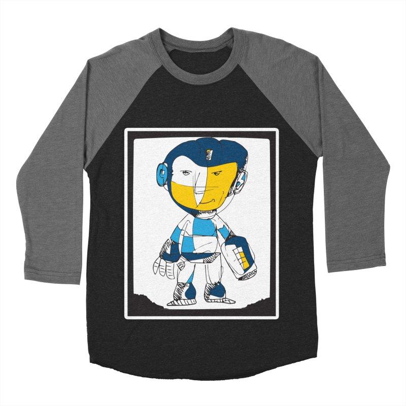MEGAMAN Women's Baseball Triblend Longsleeve T-Shirt by Turkeylegsray's Artist Shop