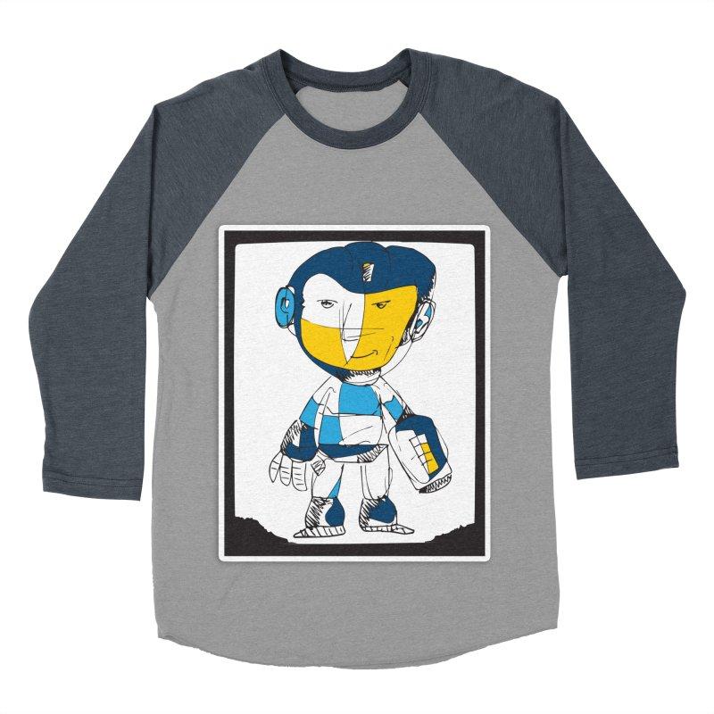 MEGAMAN Men's Baseball Triblend Longsleeve T-Shirt by Turkeylegsray's Artist Shop