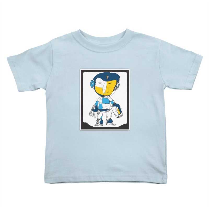 MEGAMAN Kids Toddler T-Shirt by Turkeylegsray's Artist Shop