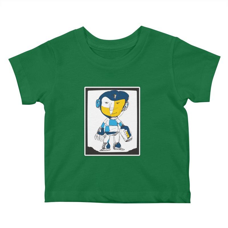 MEGAMAN Kids Baby T-Shirt by Turkeylegsray's Artist Shop