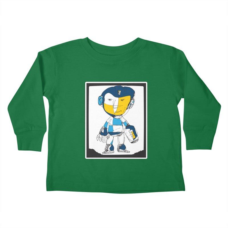 MEGAMAN Kids Toddler Longsleeve T-Shirt by Turkeylegsray's Artist Shop