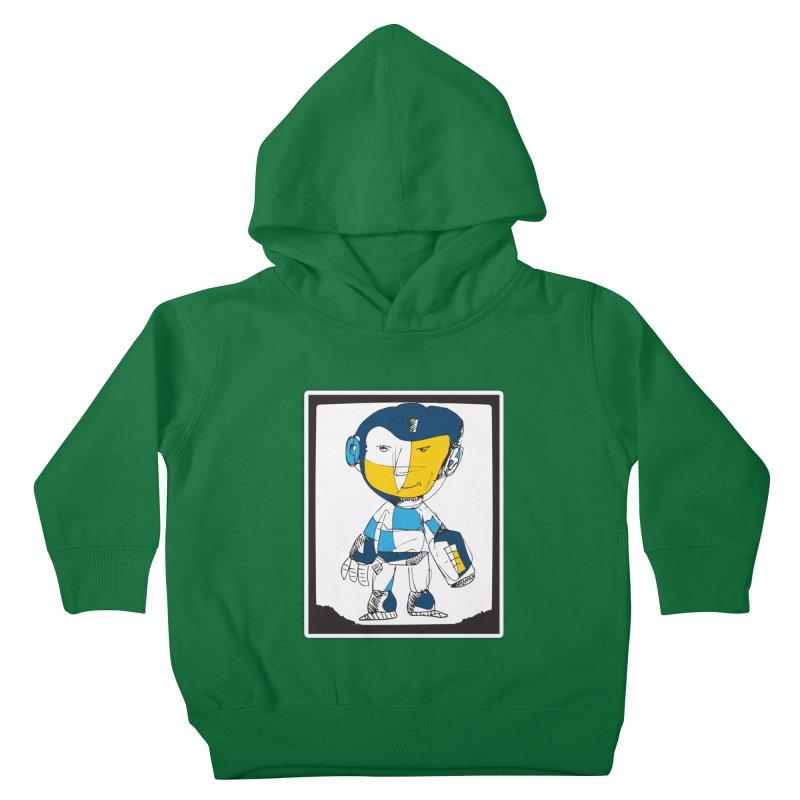 MEGAMAN Kids Toddler Pullover Hoody by Turkeylegsray's Artist Shop