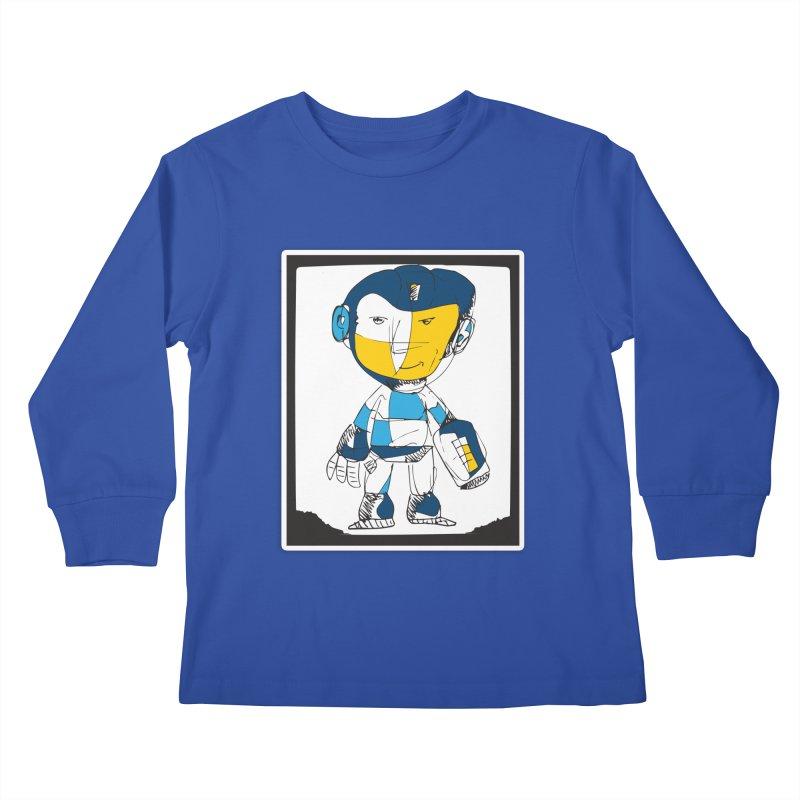 MEGAMAN Kids Longsleeve T-Shirt by Turkeylegsray's Artist Shop