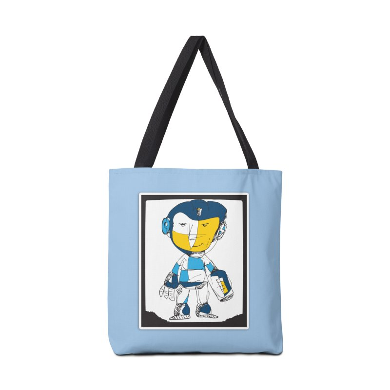 MEGAMAN Accessories Tote Bag Bag by Turkeylegsray's Artist Shop